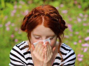 Güneşe karşı alerji